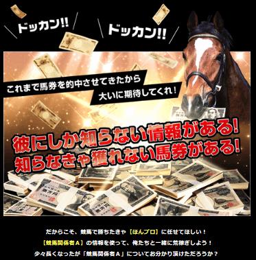 現金と馬の画像